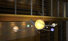 Solar System Chandelier Design Ii The Galaxy Table Spherical Magic